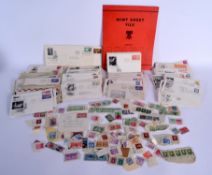 ASSORTED VINTAGE STAMPS. (qty)