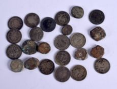 A COLLECTION OF EARLY COINS. (qty)