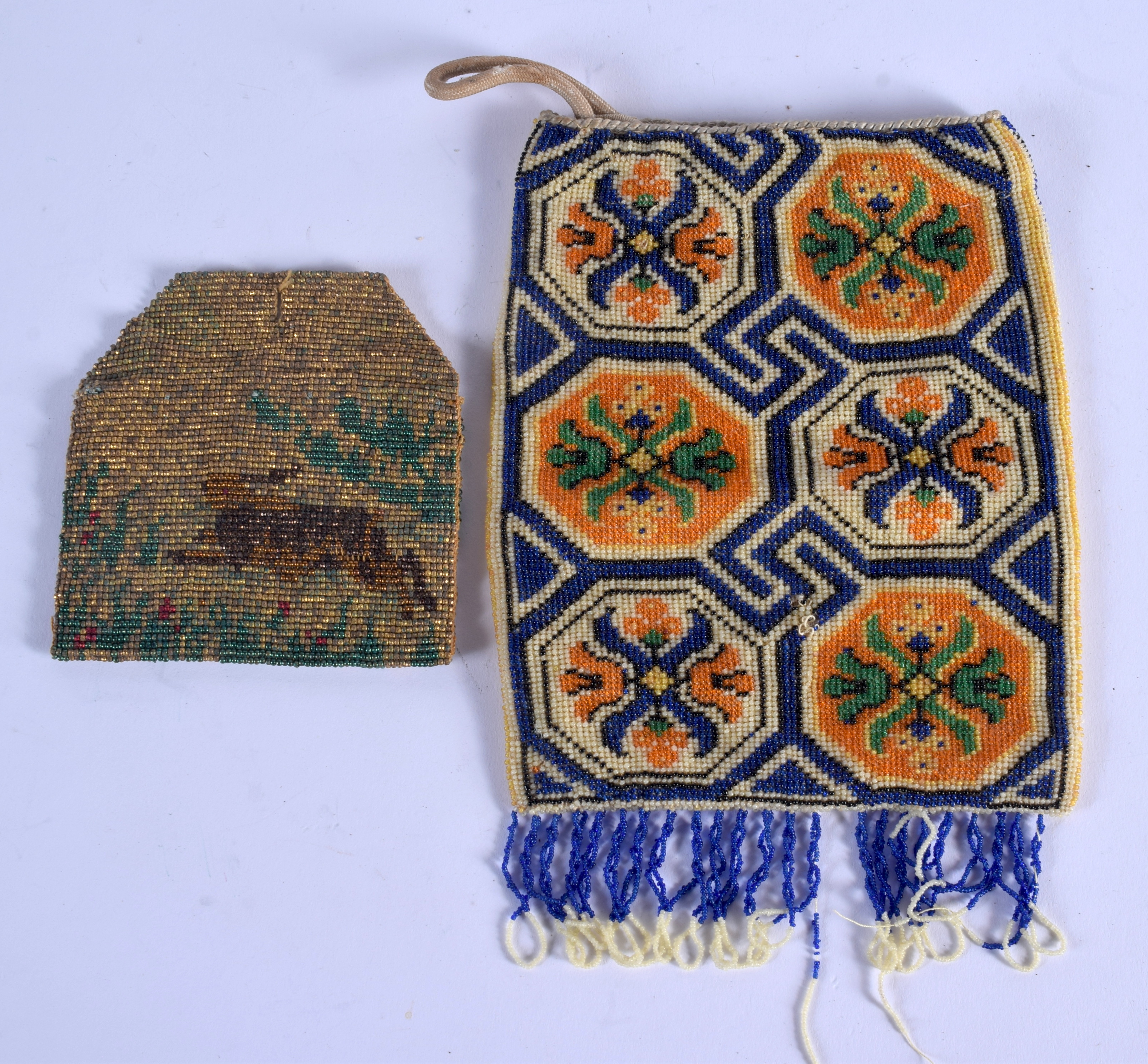 TWO VINTAGE PURSES. (2) - Image 2 of 2