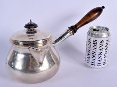 A VERY RARE MID 19TH CENTURY ENGLISH SILVER BRANDY WARMER of highly unusual proportions. London 1839