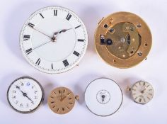 ASSORTED WATCH MOVEMENTS. (6)