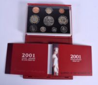 A ROYAL MINT PROOF COIN SET.