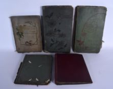 ASSORTED POSTCARD ALBUMS including some shipping, social history etc. (qty)