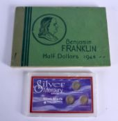 VARIOUS AMERICAN SILVER PROOF COIN SETS. (qty)