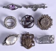 ASSORTED SILVER JEWELLERY etc. 41 grams. (qty)