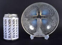 A CHARMING ART DECO RENE LALIQUE FRENCH GLASS BOWL Coquilles Pattern C1924, model 3203. 16 cm diamet