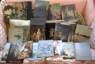 A COLLECTION OF RICHARD GREEN AND EDWARD SEAGO CATALOGUES (1983-1990) (28)