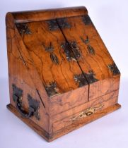 A RARE LARGE MID 19TH CENTURY ROSEWOOD BRONZE MOUNTED DESK CABINET with unusual sunburst mounts and