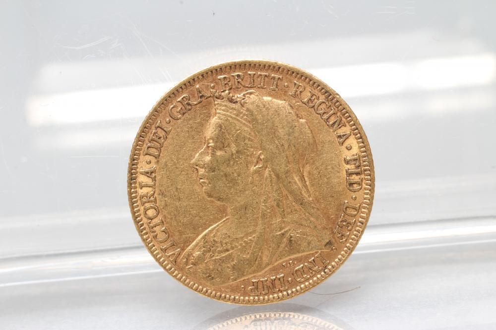 A VICTORIA SOVEREIGN, 1895, 8g (Est. plus 17.5% premium) - Image 2 of 2