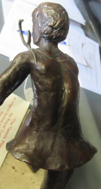 """KELSEY STERETT-GITTINGS (American b.1941), """"The Tennis Player"""", bronze, limited edition, on square - Image 11 of 11"""
