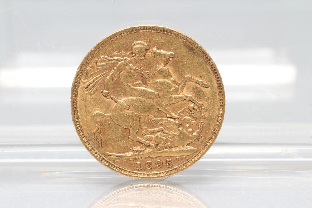 A VICTORIA SOVEREIGN, 1895, 8g (Est. plus 17.5% premium)