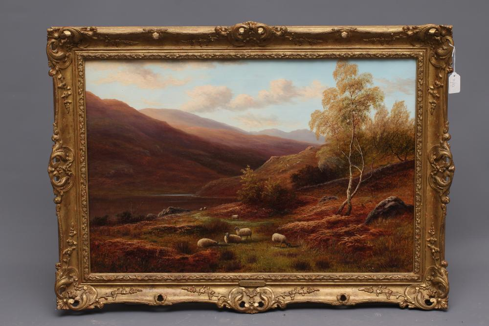 WILLIAM MELLOR (1851-1931), Near Capel Curig, North Wales, oil on canvas, signed, inscribed to