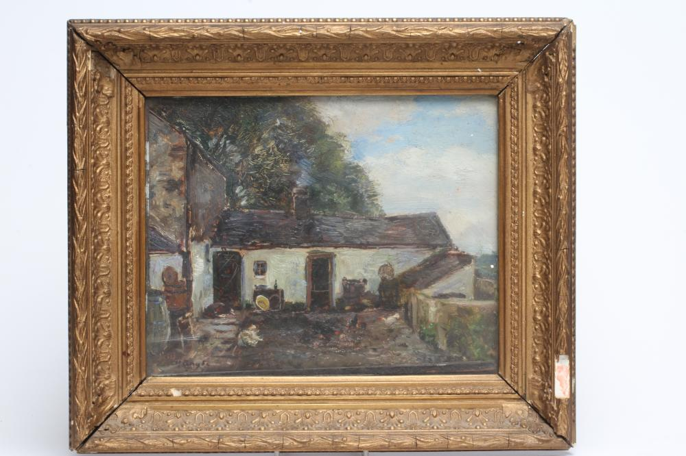 HERBERT F ROYLE (1870-1958), Hedsor-idan Cottage, Brynsiencyn, Anglesey, oil on canvas, signed,