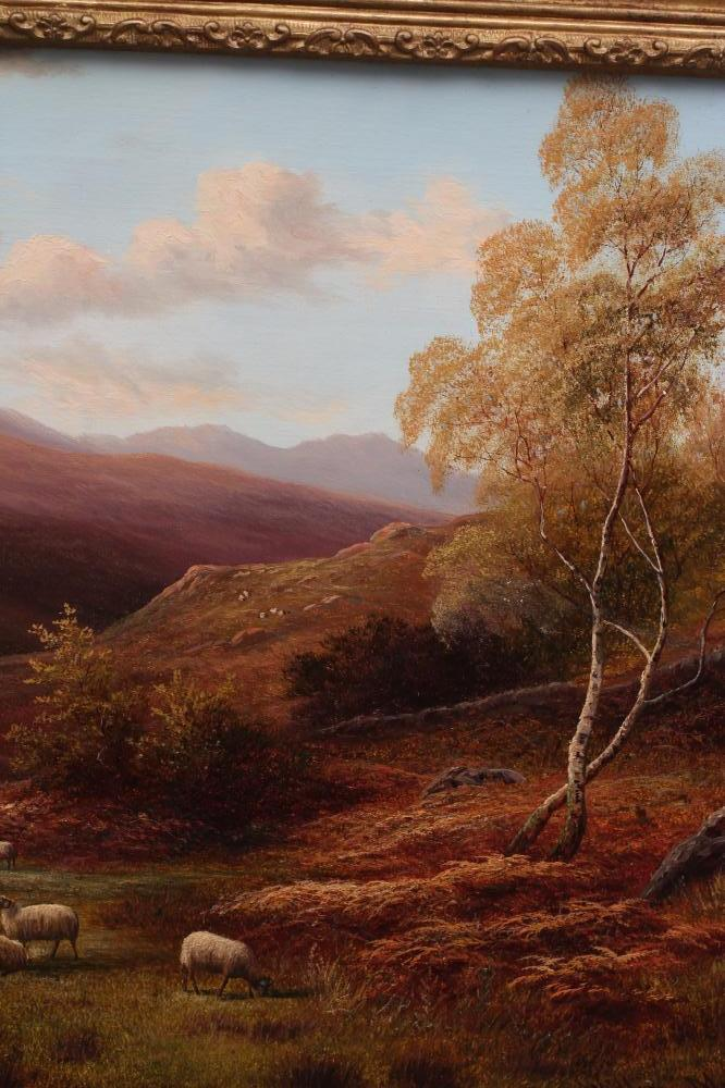 WILLIAM MELLOR (1851-1931), Near Capel Curig, North Wales, oil on canvas, signed, inscribed to - Image 2 of 4