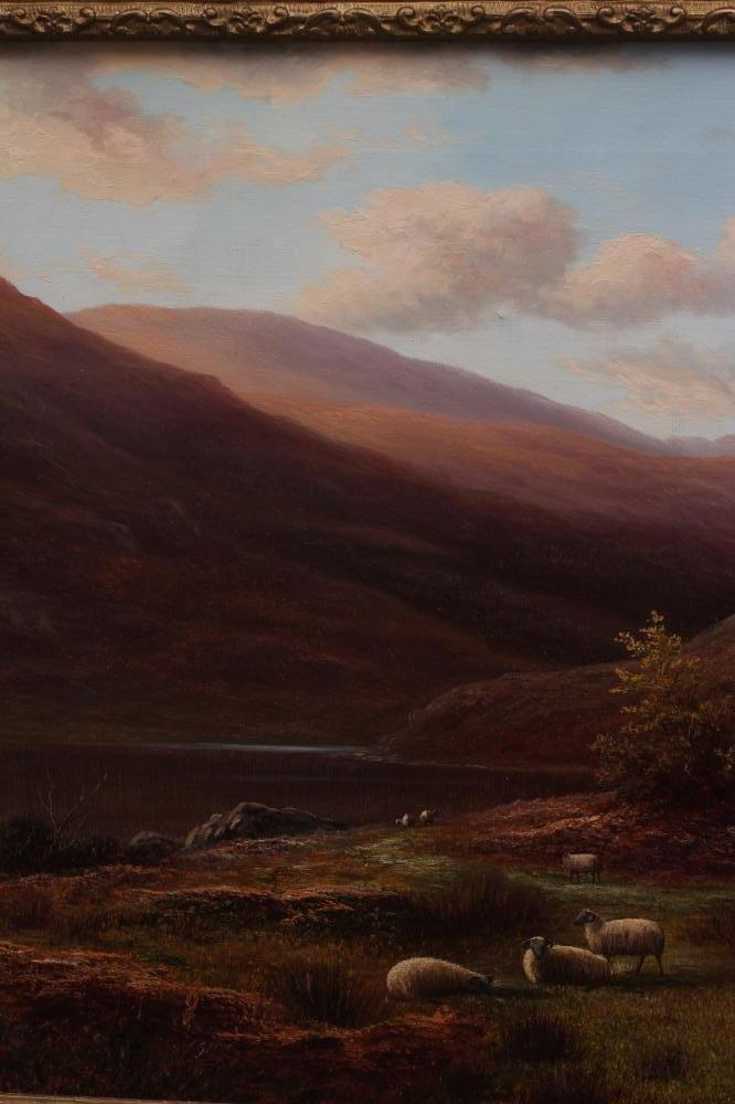 WILLIAM MELLOR (1851-1931), Near Capel Curig, North Wales, oil on canvas, signed, inscribed to - Image 3 of 4