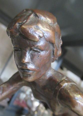 """KELSEY STERETT-GITTINGS (American b.1941), """"The Tennis Player"""", bronze, limited edition, on square - Image 6 of 11"""