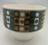 A Hornsea Pottery planter probably designed by John Clappison 14cms h.Condition ReportSmall chip