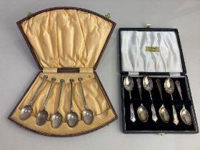 A cased set of six Elizabeth II silver teaspoons, maker Cooper Brothers & Sons Ltd, Sheffield