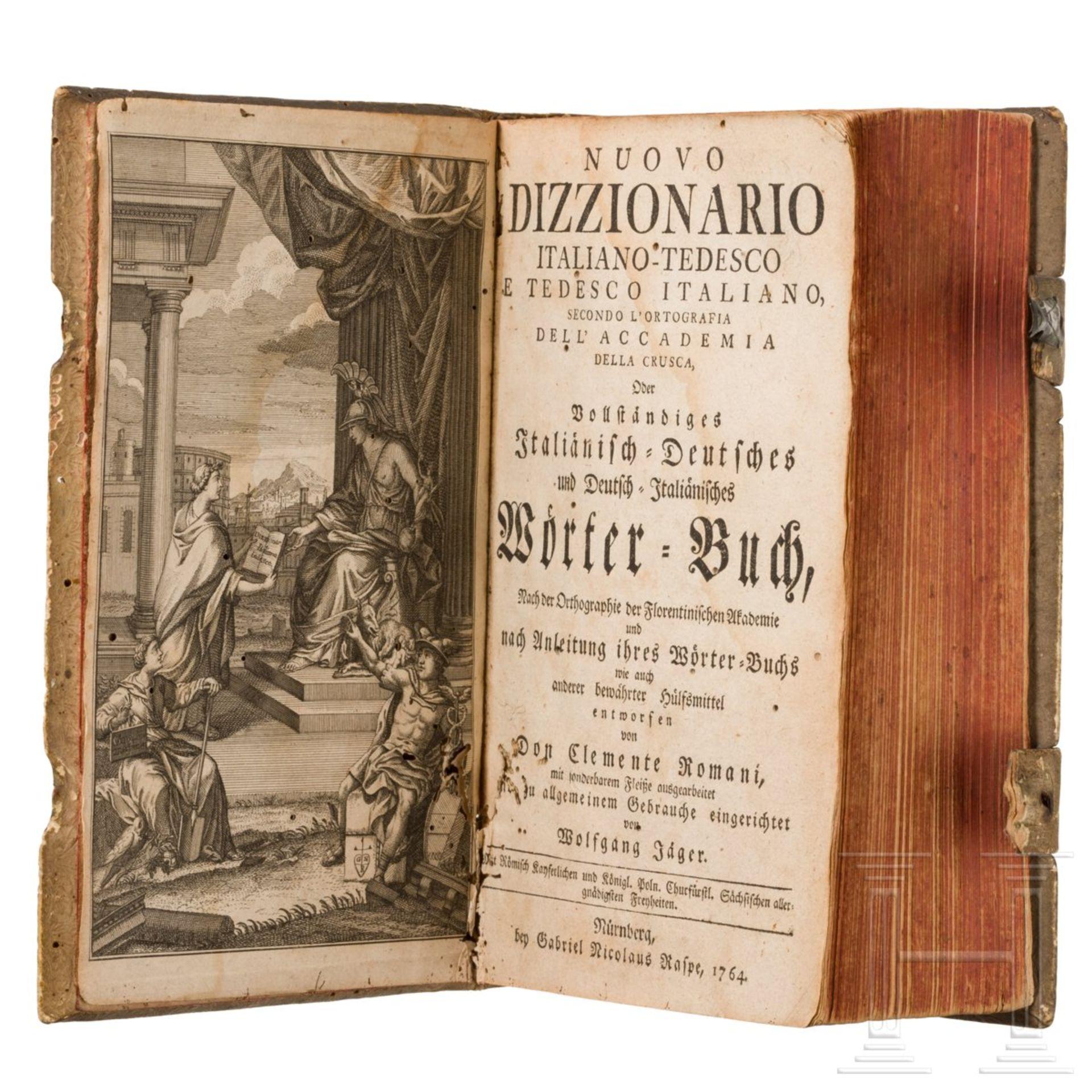 """Purmann, Matthäus G. – """"Der rechte und wahrhafftige Feldscherer"""", Frankfurt, 1721 - Image 2 of 5"""