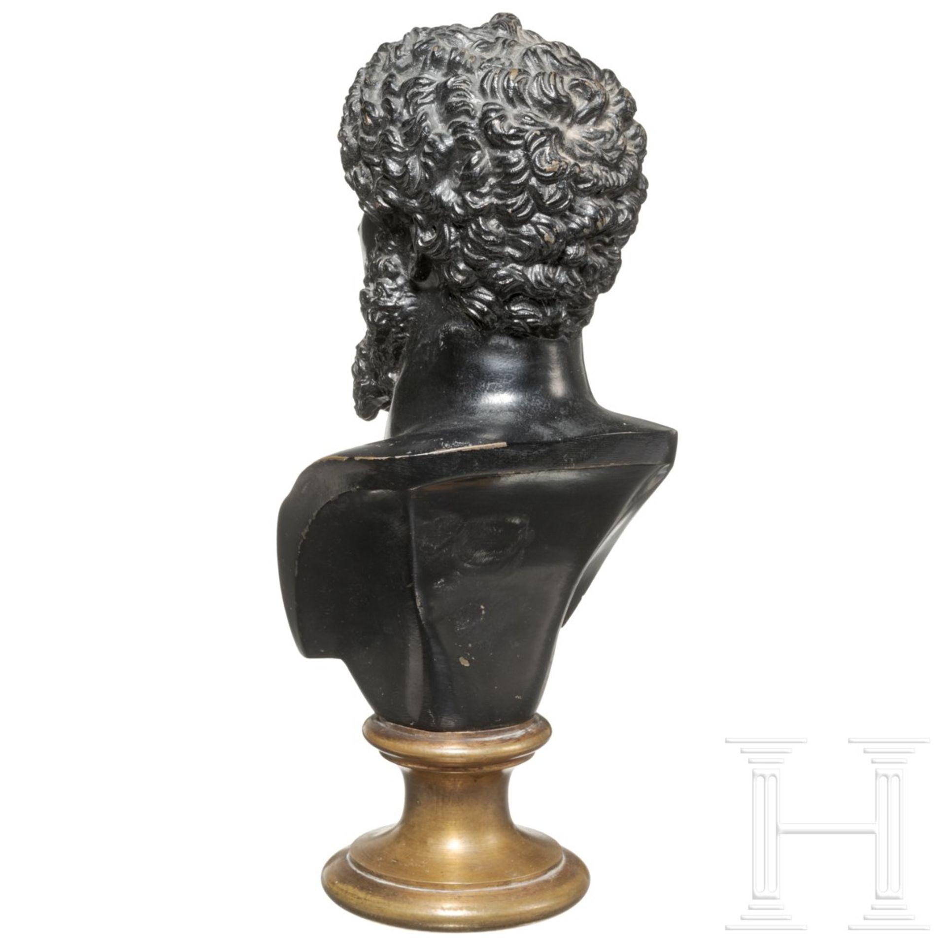 Bronzebüste des Kaisers Lucius Verus - Image 3 of 4