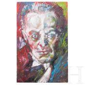 Portrait des Karl Kraus, Umkreis Oskar Kokoschka