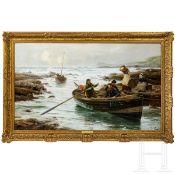 """Richard Henry Carter (1827-91) – """"Kornisch Fischerszene"""""""