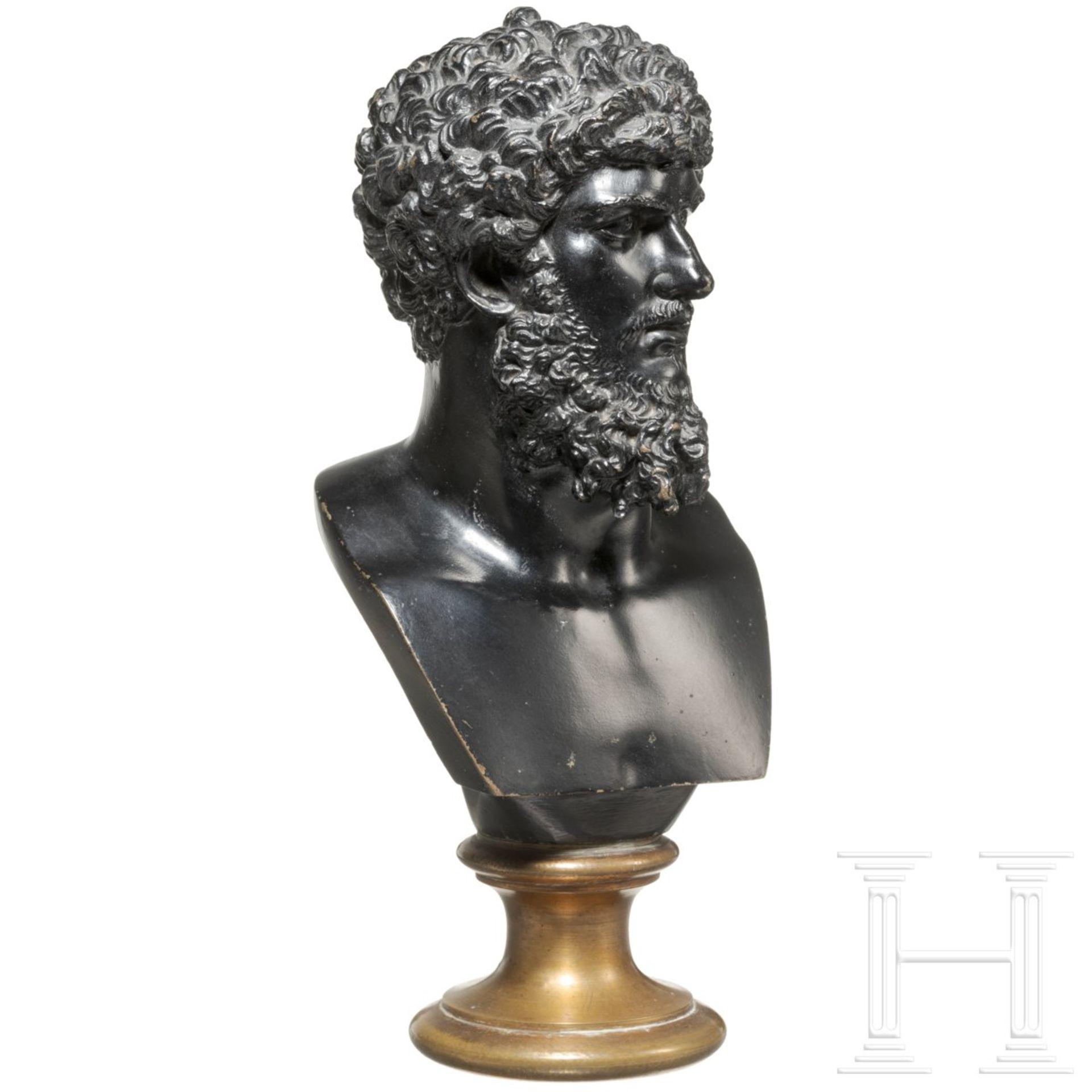 Bronzebüste des Kaisers Lucius Verus - Image 2 of 4