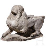 Wasserspeier in Form einer Sphinx, Frankreich oder Italien, 16. Jhdt.