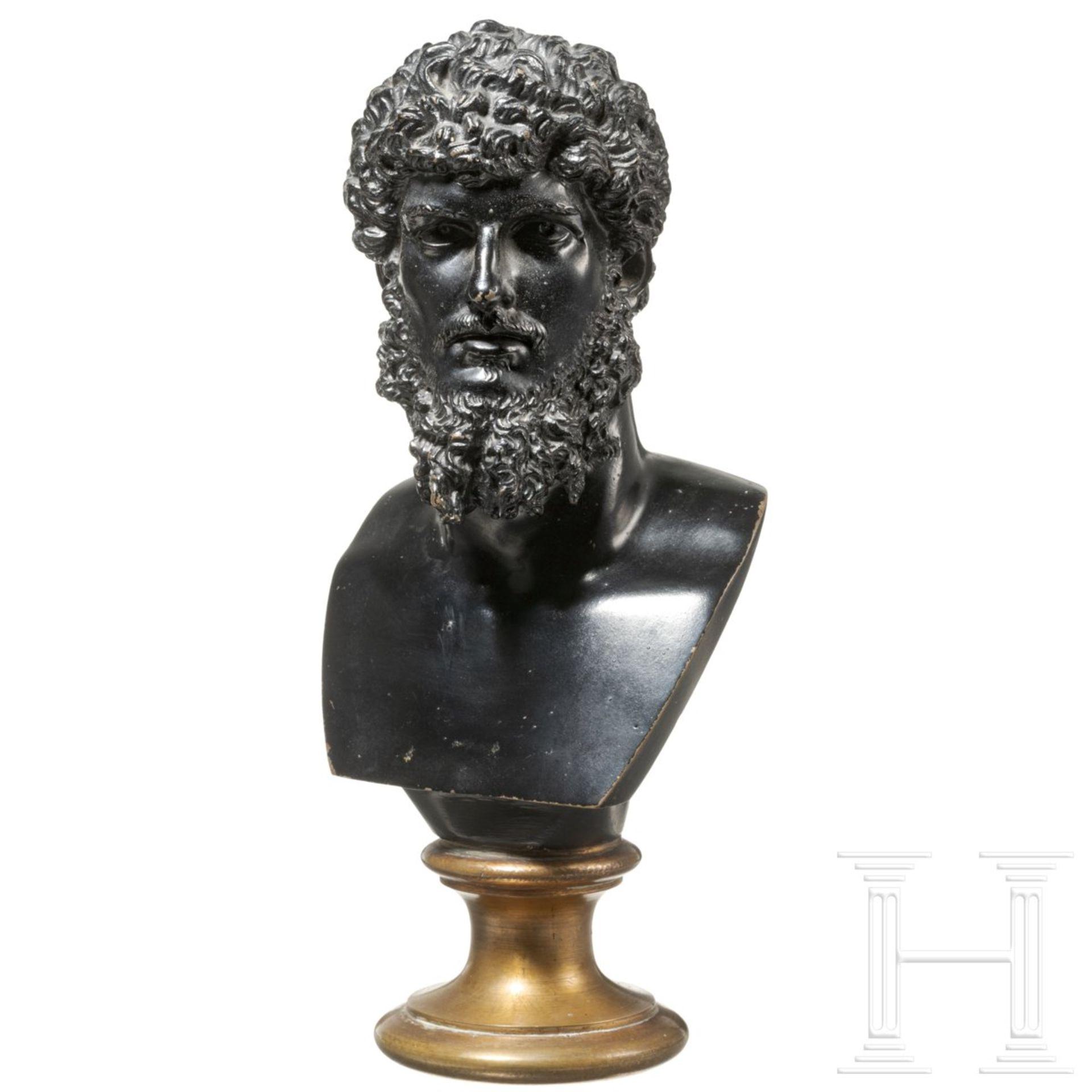Bronzebüste des Kaisers Lucius Verus