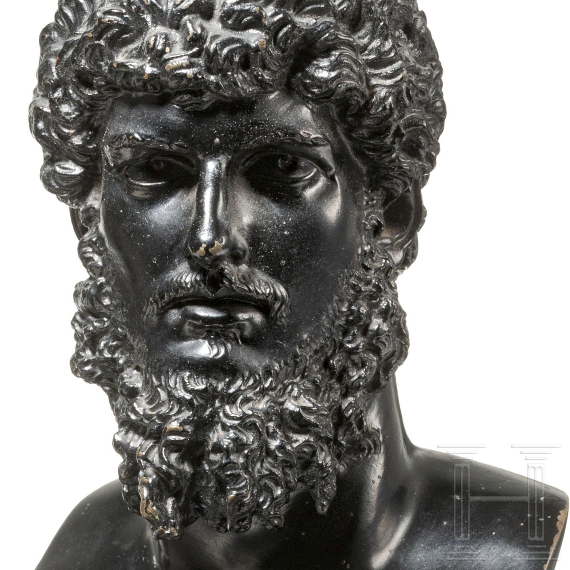 Bronzebüste des Kaisers Lucius Verus - Image 4 of 4