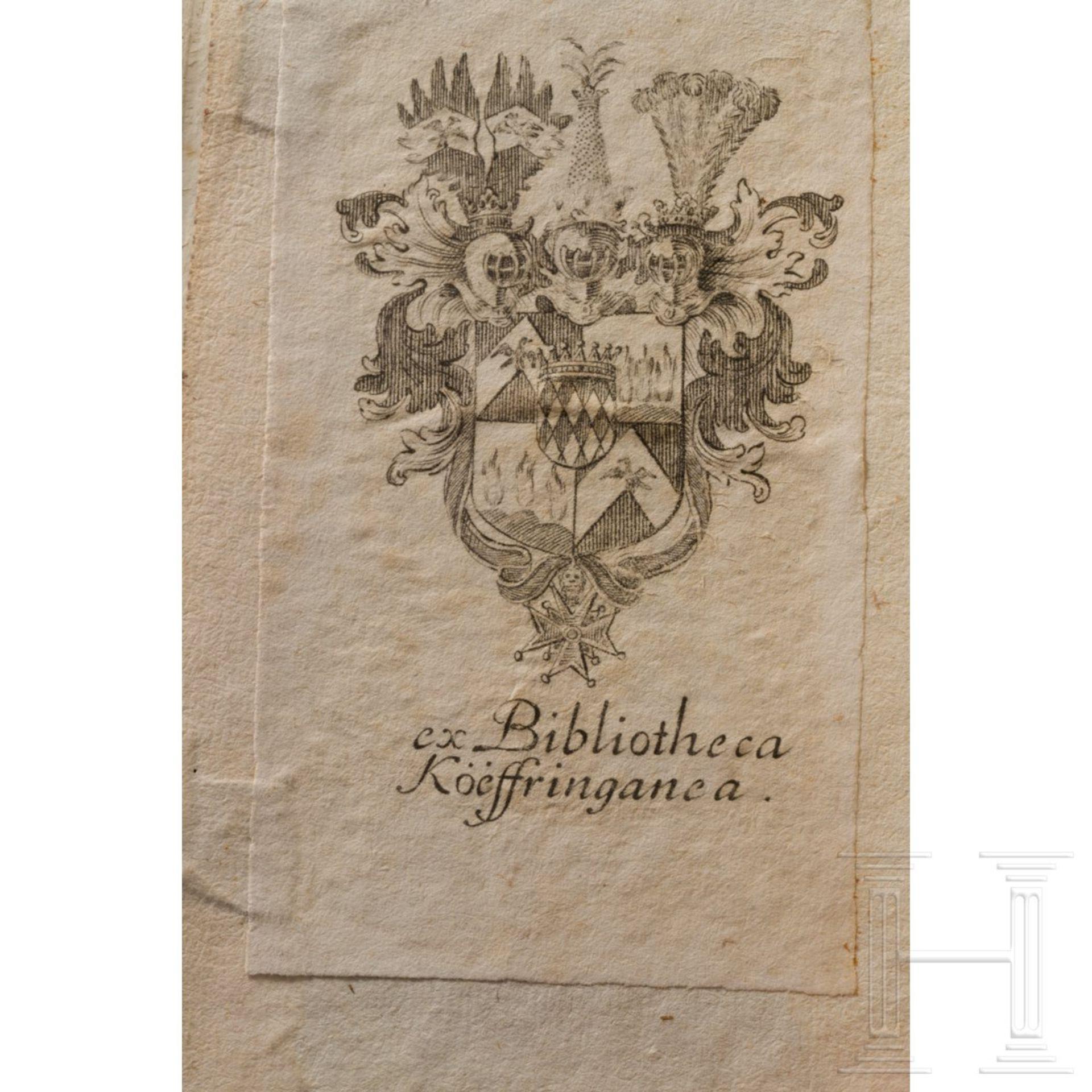 """Purmann, Matthäus G. – """"Der rechte und wahrhafftige Feldscherer"""", Frankfurt, 1721 - Image 5 of 5"""