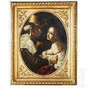 Barocker Altmeister, sogenannter Caravaggisti, Italien, 17. Jhdt.