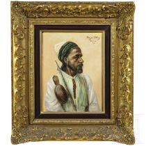 Oscar Meyer-Elbing (1866 - ca. 1930) - Portrait eines Orientalen, datiert 1895