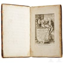 """""""Kunstkabinet"""", Tafelwerk über die Standbilder des antiken Roms, Gravenhage, 1737"""