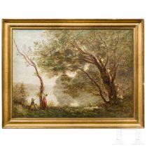 Impressionistische Landschaft, Frankreich, Ende 19. Jhdt.