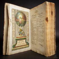 """""""Descriptio Orbis Antiqui in XLIV. Tabulis exhibita"""" a Io. Davide Koelero""""; kolorierter Atlas, Chris"""
