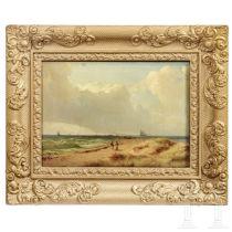 """Gustav Adolf Boenisch (1802-87) - """"Strand"""", datiert 1830"""
