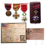 Commandant Marie Joseph Joba - Auszeichnungen und Urkunden