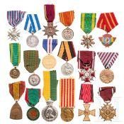 18 internationale Auszeichnungen, 20. Jhdt.
