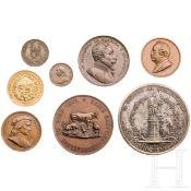 Acht Medaillen, Italien/Österreich, 19. Jhdt.