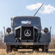 Selbstfahrlafette auf Basis des Mercedes-Benz L 3000 S mit 2 cm Flak 30, Baujahr 1939