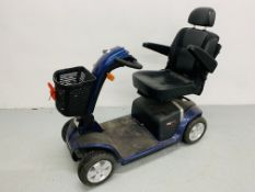 PRIDE COLT PLUS MOBILITY SCOOTER WITH CHARGER - SOLD AS SEEN