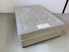 "A HYPNOS ""ORTHOS SUPERBE"" DOUBLE DIVAN BED WITH LUXURY POCKET SPRING MATTRESS"