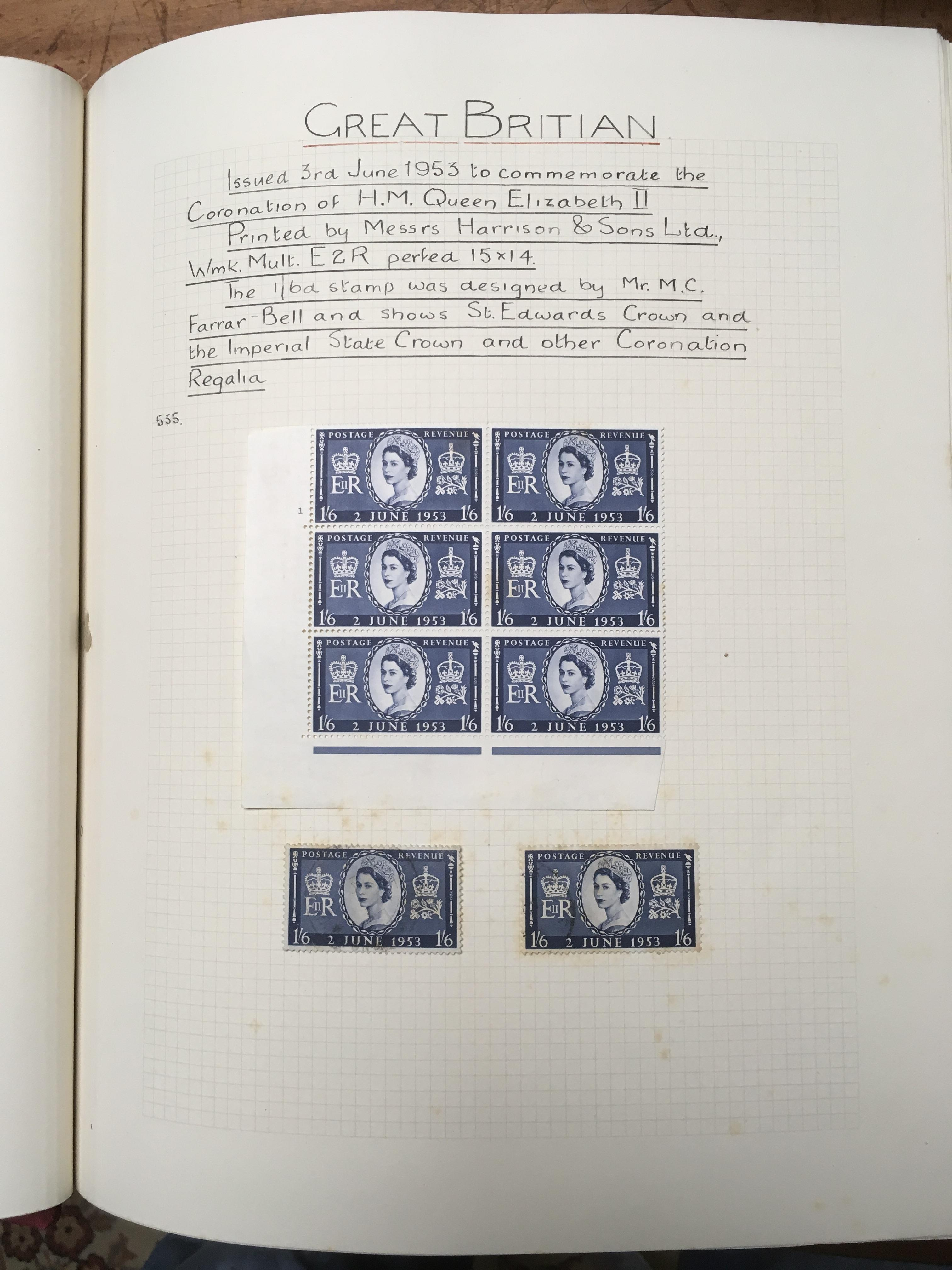 GB: BOX WITH QE2 MINT AND USED COLLECTIO - Image 3 of 4