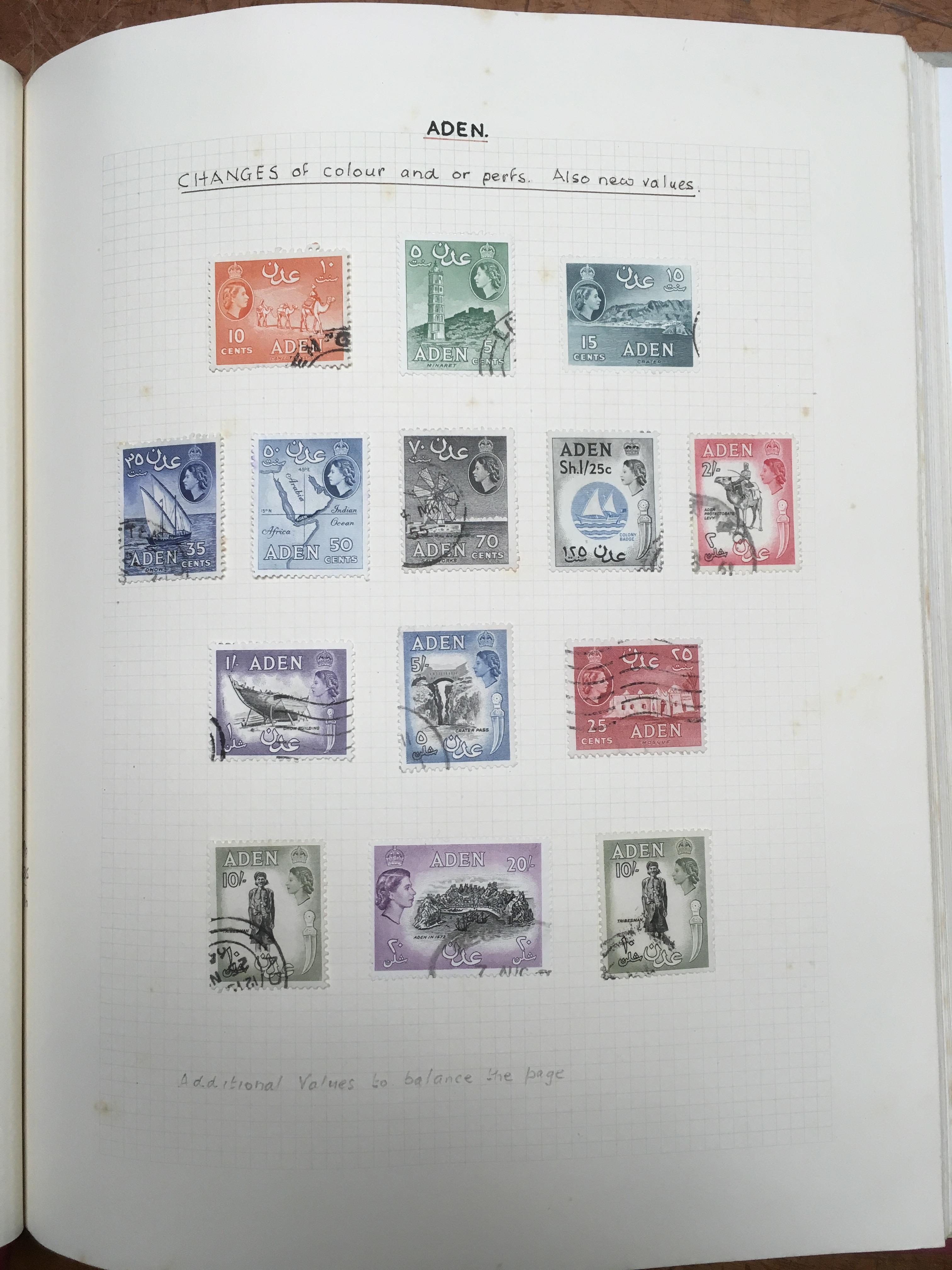 BOX WITH QE2 OG OR USED COLLECTION TO AB