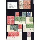 GB: 1911-29 KG5 MINT SELECTION, SOME BEI