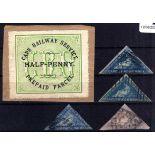 CAPE OF GOOD HOPE: 1855-62 TRIANGULARS 4