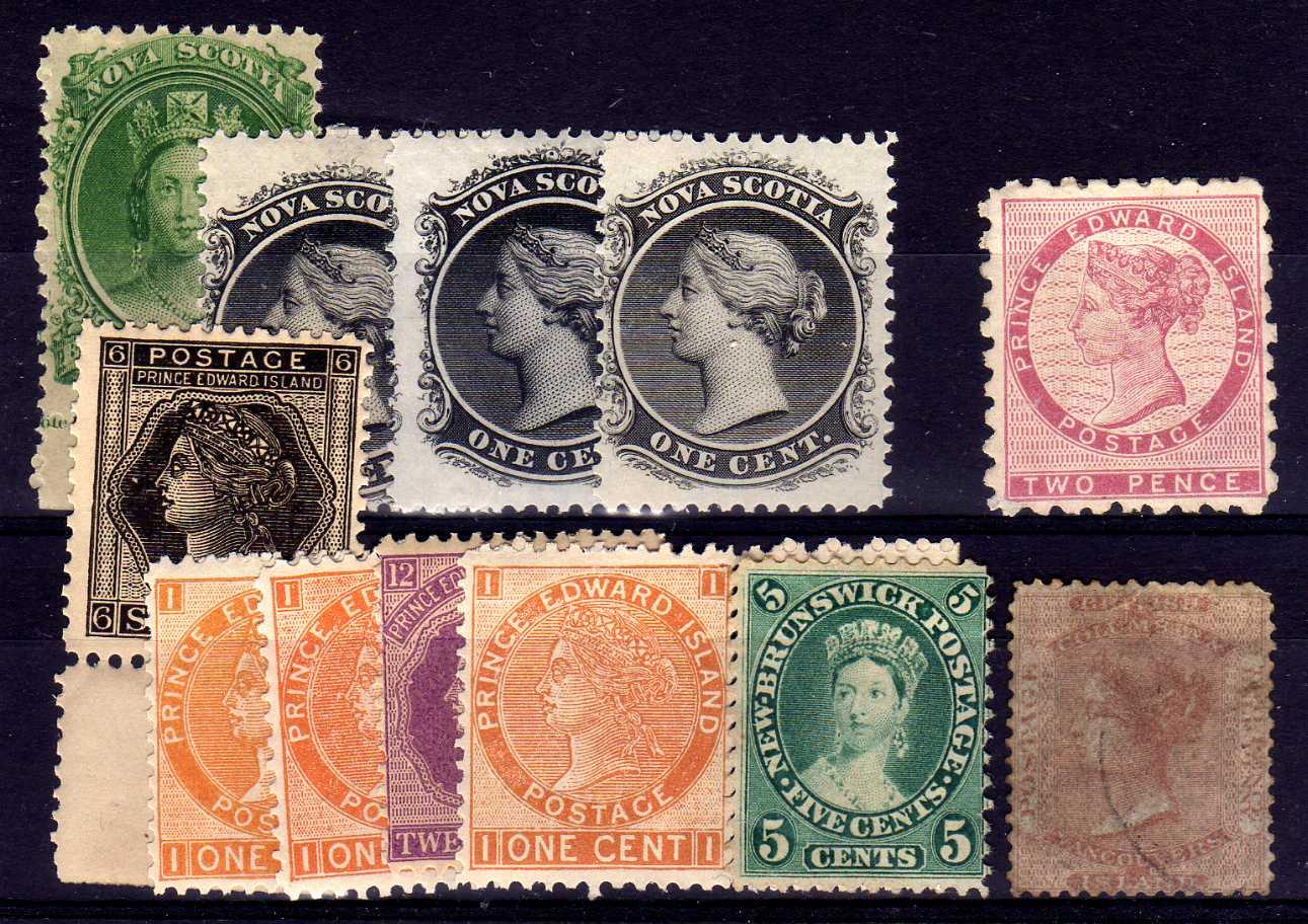 PRINCE EDWARD ISLAND: 1861 PERF 9 TWO PE
