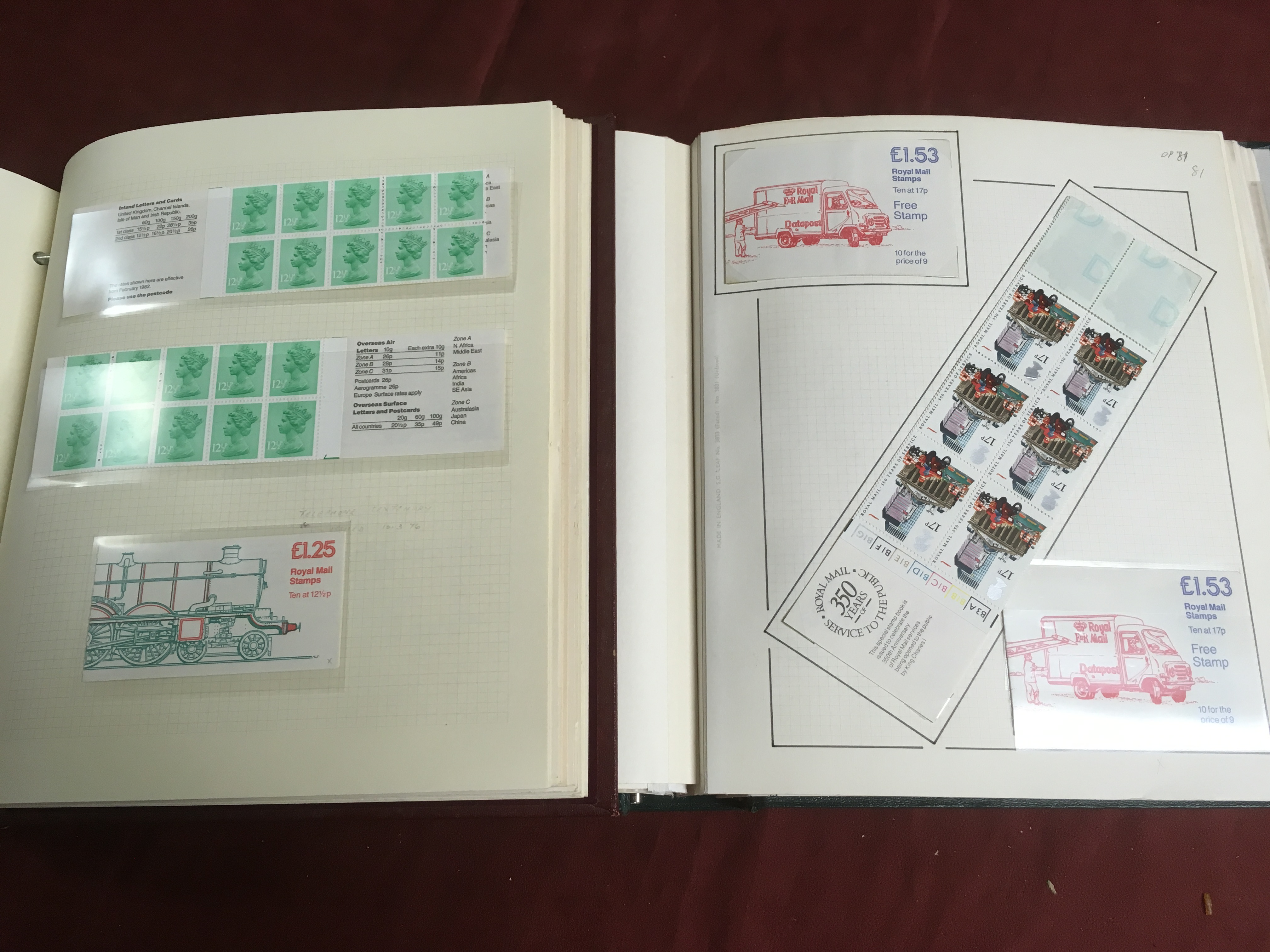 GB BOOKLETS: 1976-89 MACHIN FOLDED 65p - - Image 3 of 3