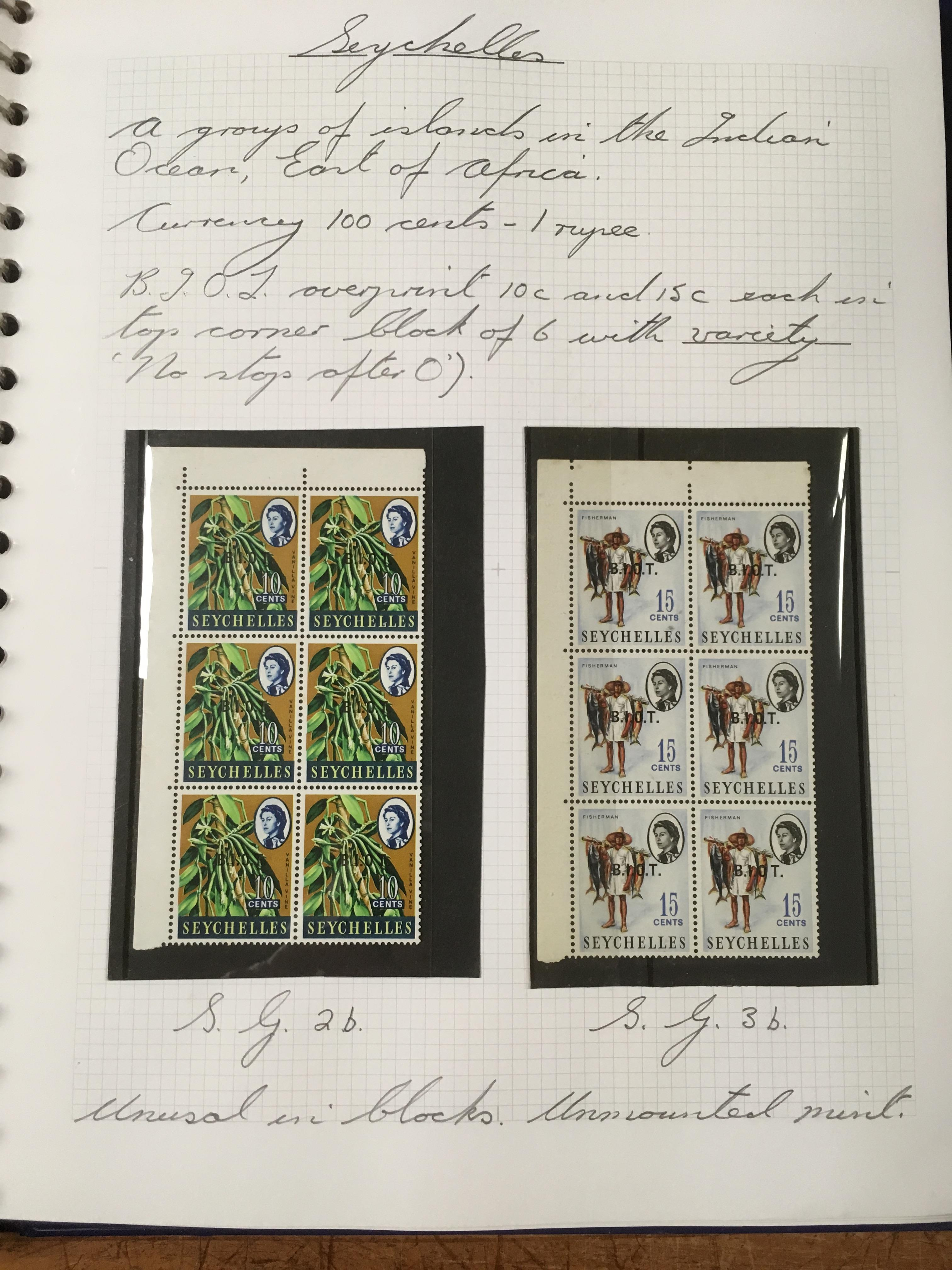 BOX WITH QE2 PERIOD VARIETIES, ERRORS, F - Image 3 of 4